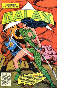 Cover Thumbnail for Lançamento (4ª Série) [Galax] (Editora Brasil-América [EBAL], 1978 series) #3