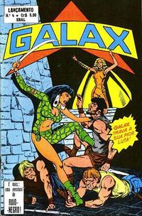 Cover Thumbnail for Lançamento (4ª Série) [Galax] (Editora Brasil-América [EBAL], 1978 series) #4