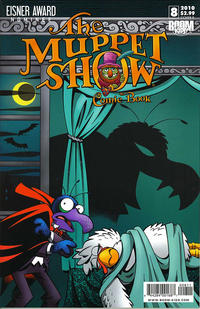 Cover Thumbnail for The Muppet Show: The Comic Book (Boom! Studios, 2009 series) #8 [Cover A]