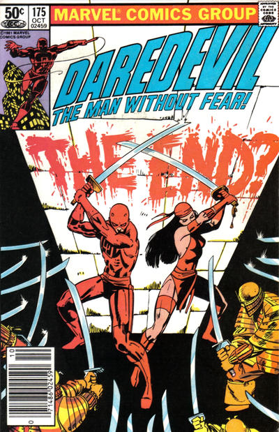 Cover for Daredevil (Marvel, 1964 series) #175 [Direct Edition]