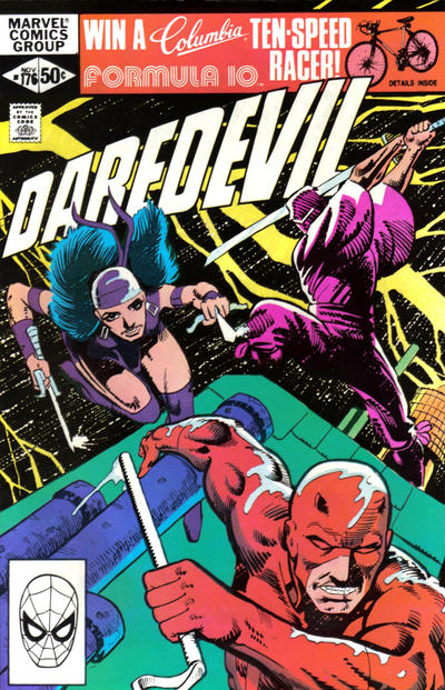 Cover for Daredevil (Marvel, 1964 series) #176 [Direct Edition]