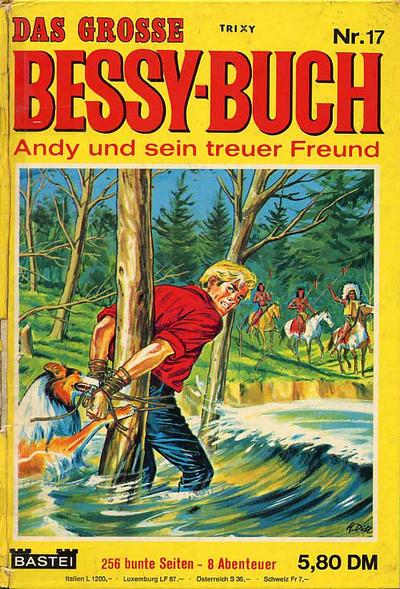 Cover for Das große Bessy Buch (Bastei Verlag, 1965 series) #17