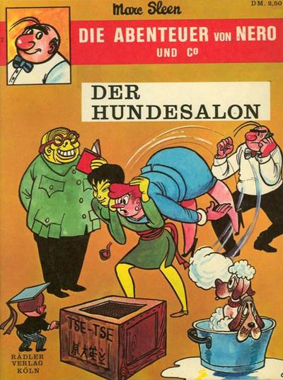 Cover for Die Abenteuer von Nero und Co (Rädler, 1972 series) #2