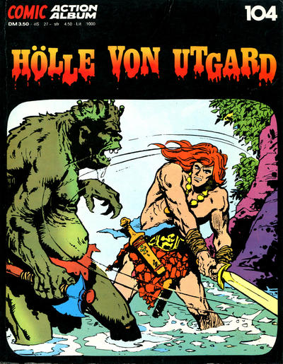 Cover for Action Comic Album (Gevacur, 1973 series) #104 - Hölle von Utgard
