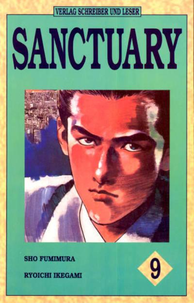 Cover for Sanctuary (Schreiber & Leser, 1994 series) #9