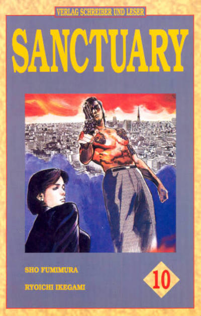 Cover for Sanctuary (Schreiber & Leser, 1994 series) #10