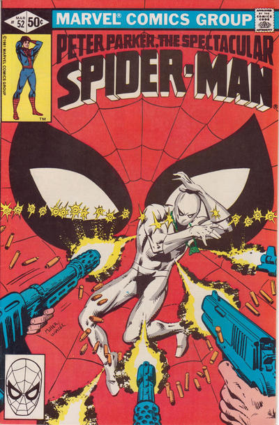 Cover for The Spectacular Spider-Man (Marvel, 1976 series) #52 [direct]
