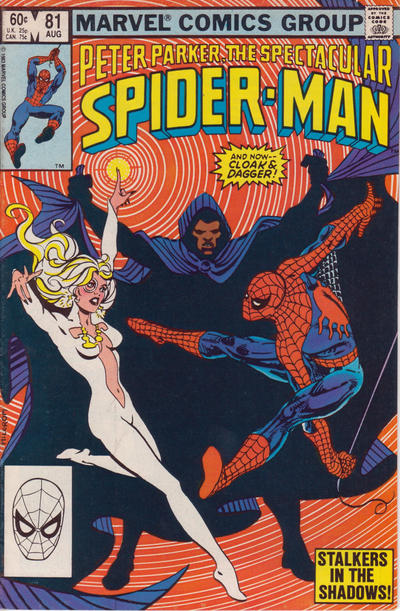 Cover for The Spectacular Spider-Man (Marvel, 1976 series) #81 [Direct Edition]
