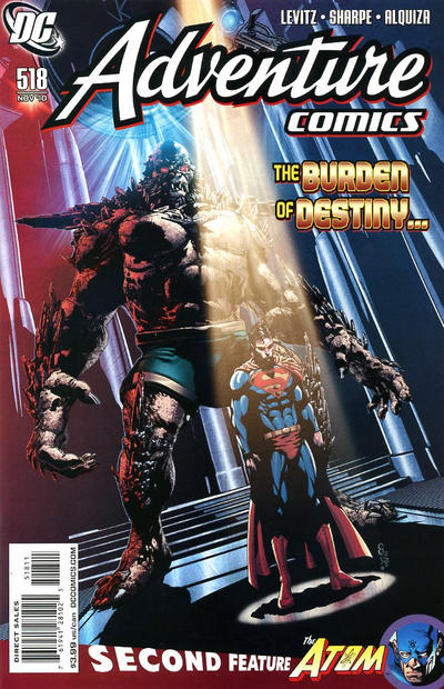 Cover for Adventure Comics (DC, 2009 series) #518