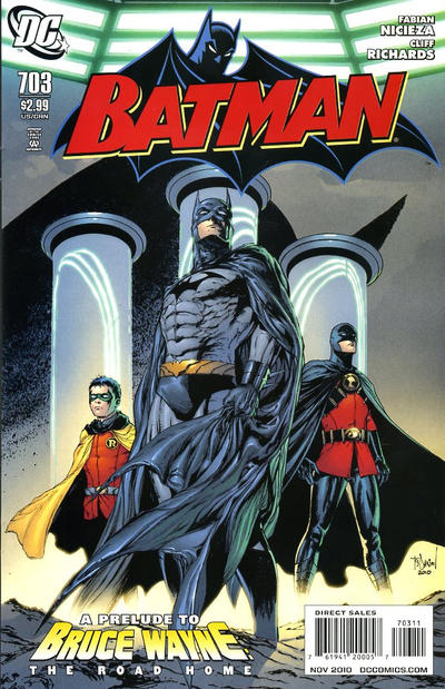 Cover for Batman (DC, 1940 series) #703