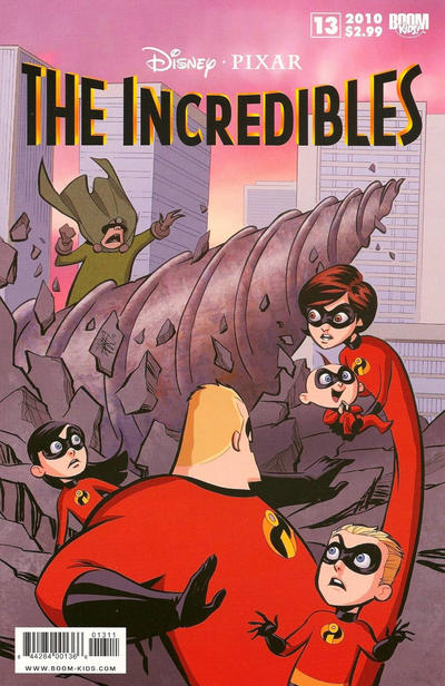 Cover for The Incredibles (Boom! Studios, 2009 series) #13