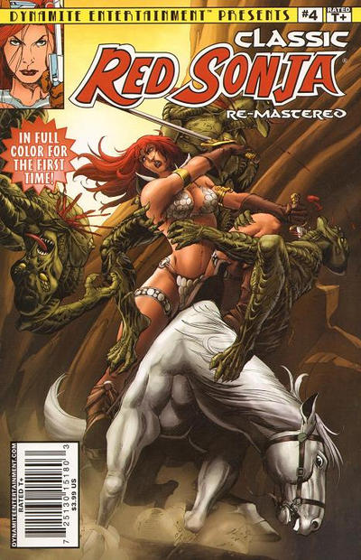 Cover for Classic Red Sonja Remastered (Dynamite Entertainment, 2010 series) #4