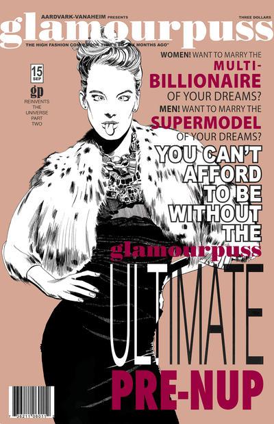 Cover for glamourpuss (Aardvark-Vanaheim, 2008 series) #15