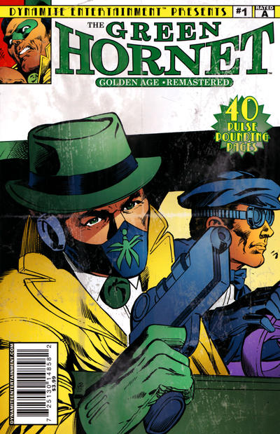 Cover for The Green Hornet: Golden Age Re-Mastered (Dynamite Entertainment, 2010 series) #1