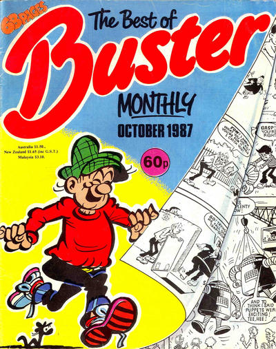 Cover for The Best of Buster Monthly (Fleetway Publications, 1987 series) #[October 1987]