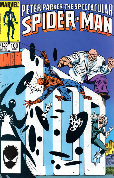 Cover for The Spectacular Spider-Man (Marvel, 1976 series) #100 [newsstand]
