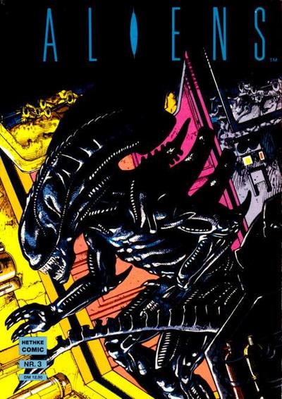 Cover for Aliens (Norbert Hethke Verlag, 1990 series) #3