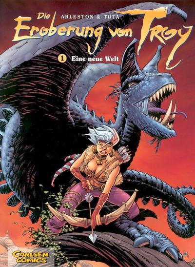 Cover for Die Eroberung von Troy (Carlsen Comics [DE], 2006 series) #1 - Eine neue Welt