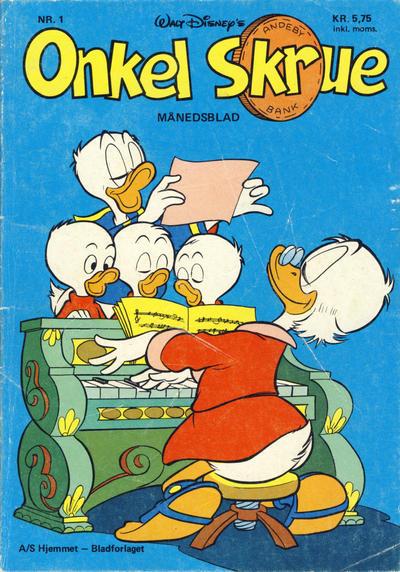 Cover for Onkel Skrue (Hjemmet / Egmont, 1976 series) #1