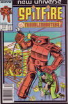 Cover for Spitfire and the Troubleshooters (Marvel, 1986 series) #3 [Newsstand]