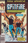 Cover for Spitfire and the Troubleshooters (Marvel, 1986 series) #6 [Newsstand]