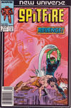 Cover for Spitfire and the Troubleshooters (Marvel, 1986 series) #8 [Newsstand]