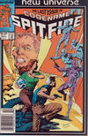 Cover for Codename: Spitfire (Marvel, 1987 series) #13 [Newsstand Edition]