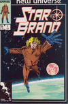 Cover for Star Brand (Marvel, 1986 series) #1 [Direct]