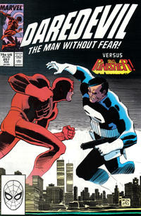 Cover Thumbnail for Daredevil (Marvel, 1964 series) #257 [Direct Edition]