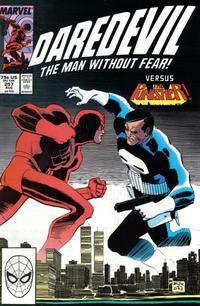 Cover Thumbnail for Daredevil (Marvel, 1964 series) #257 [Direct]