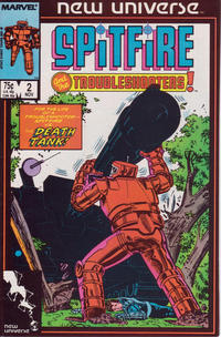 Cover Thumbnail for Spitfire and the Troubleshooters (Marvel, 1986 series) #2 [Direct]