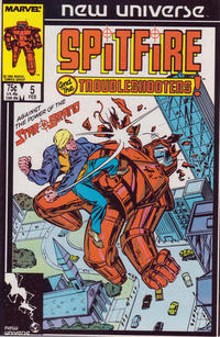 Cover Thumbnail for Spitfire and the Troubleshooters (Marvel, 1986 series) #5 [Direct]