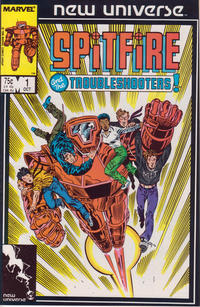 Cover Thumbnail for Spitfire and the Troubleshooters (Marvel, 1986 series) #1 [Direct]