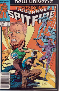 Cover Thumbnail for Codename: Spitfire (Marvel, 1987 series) #13 [Newsstand Edition]