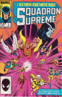 Cover Thumbnail for Squadron Supreme (Marvel, 1985 series) #1 [Direct]