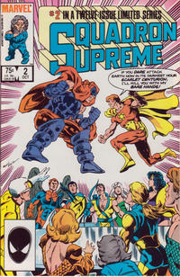 Cover Thumbnail for Squadron Supreme (Marvel, 1985 series) #2 [Direct]