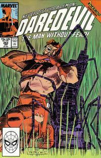 Cover Thumbnail for Daredevil (Marvel, 1964 series) #262 [Direct]