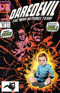 Cover for Daredevil (Marvel, 1964 series) #264 [Newsstand]