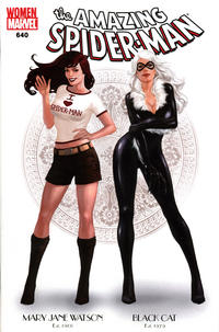 Cover Thumbnail for The Amazing Spider-Man (Marvel, 1999 series) #640 [Women of Marvel Variant Edition]