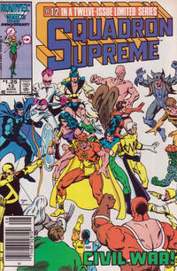 Cover Thumbnail for Squadron Supreme (Marvel, 1985 series) #12 [Newsstand Edition]