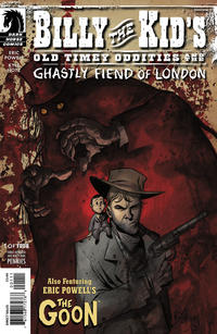 Cover Thumbnail for Billy the Kid's Old Timey Oddities and the Ghastly Fiend of London (Dark Horse, 2010 series) #1