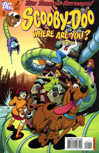 Cover Thumbnail for Scooby-Doo, Where Are You? (DC, 2010 series) #1 [Direct Sales]