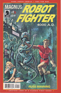 Cover Thumbnail for Magnus, Robot Fighter: One for One (Dark Horse, 2010 series) #1