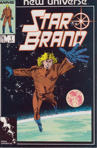 Cover Thumbnail for Star Brand (Marvel, 1986 series) #1 [Direct]