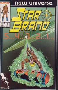 Cover Thumbnail for Star Brand (Marvel, 1986 series) #2 [Direct]