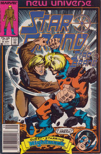 Cover Thumbnail for Star Brand (Marvel, 1986 series) #9 [Newsstand Edition]
