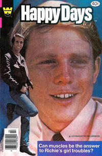 Cover Thumbnail for Happy Days (Western, 1979 series) #6 [Whitman cover]