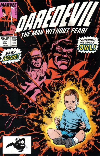 Cover for Daredevil (Marvel, 1964 series) #264 [Direct Edition]