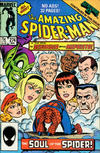 Cover for The Amazing Spider-Man (Marvel, 1963 series) #274 [Direct]