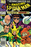 Cover for The Amazing Spider-Man (Marvel, 1963 series) #337 [Newsstand]